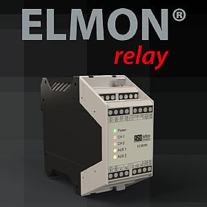 2-channel safety relay ELMON relay 42-622